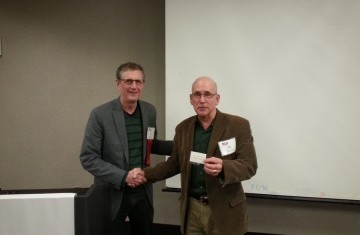 Bill Coady receives his 20 year Pin!  Congratulations Bill!